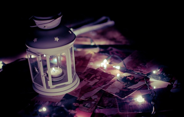 Picture light, memories, background, widescreen, Wallpaper, candle, flashlight, lantern, photos, wallpaper, different, candle, widescreen, background, full ...