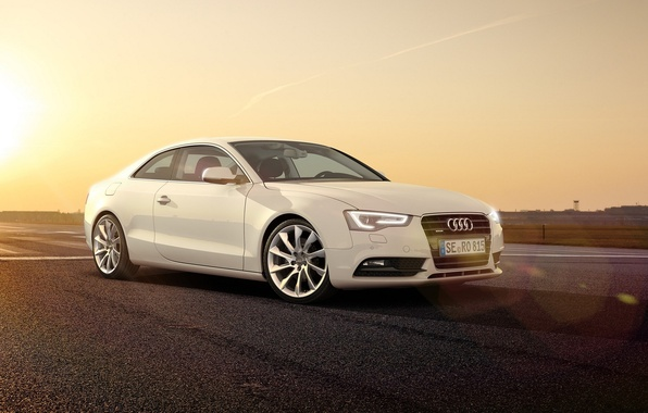 Picture Audi, Audi, White, 2014