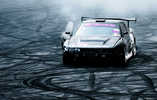 Picture nissan, drift, drift, Nissan, silvia, s13, Silvia