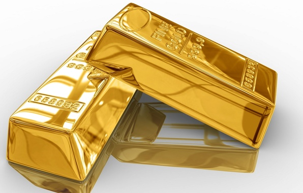 Picture background, gold, Shine, bars
