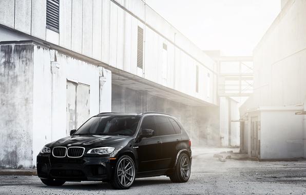 Picture black, BMW, BMW, black, Blik, crossover, X5M