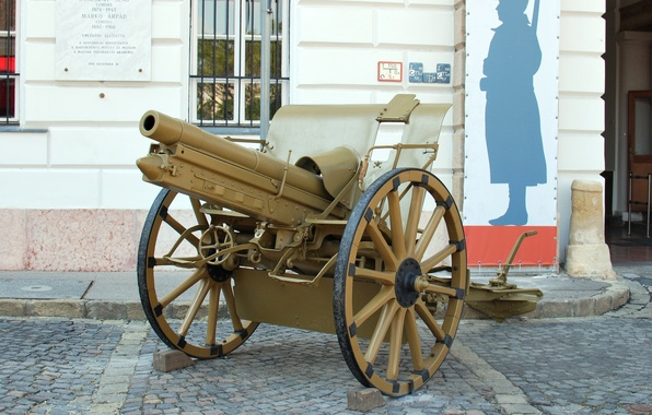 Picture gun, 5 cm, The first world war, times