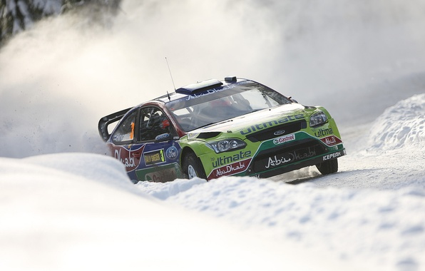 Picture Ford, Sweden, Hirvonen, rally