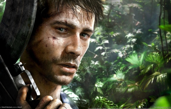 Wallpaper Look Gun The Game Scar Vaas Montenegro Vase Far Cry 3 Images For Desktop Section Igry Download