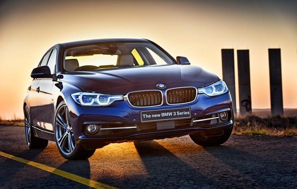 Picture BMW, BMW, sedan, F30, 2015, 3-Series