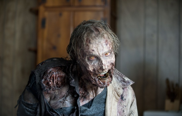 Picture zombie, fear, the walking dead, makeup