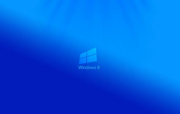 Picture minimalism, logo, minimal, windows 8, eight