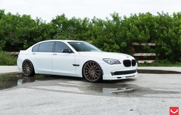 Picture BMW, BMW, 7 Series, Vossen, VFS2 Satin Bronze