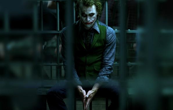 Picture batman, Batman, Joker, the dark knight, prison, joker, dark knight
