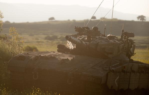 Picture tank, combat, Merkava, main, Israel, Merkava-IIID