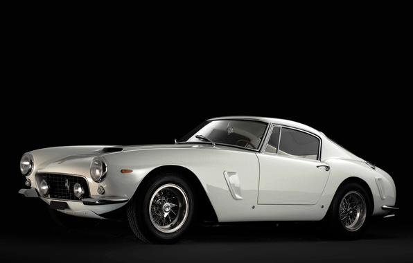 Picture White, Retro, Ferrari, Ferrari, Car, 1962, Berlinetta, 250, SWB