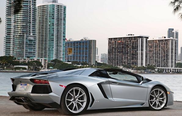 Picture auto, Lambo, supercar, Roadster, roadster, LP700-4, Lamborghini Aventador