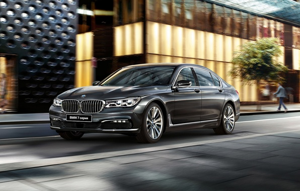 Photo wallpaper G12, sedan, BMW, BMW, 7-Series
