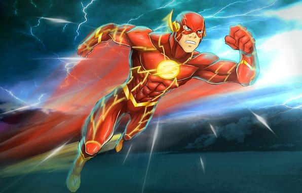 Picture costume, superhero, DC Comics, Flash, Flash, Barry Allen