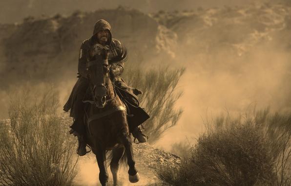 Picture cinema, wallpaper, rock, Assassins Creed, game, hitman, desert, dust, man, sand, movie, Assassin's Creed, animal, …