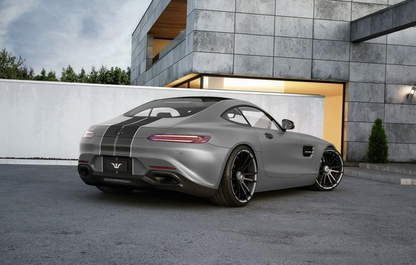 Picture Mercedes-Benz, AMG, Wheelsandmore, Grey, Rear, Tuned, 600HP