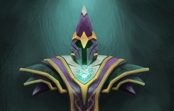 wallpaper art nortrom helmet silencer yzzzehc dota 2 images
