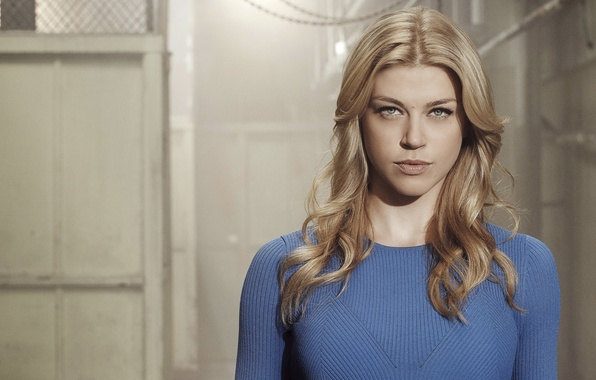 Picture girl, hairstyle, blonde, the series, TV Series, Adrianne Palicki, Adrienne Paliki, jumper, Agents of Shield, …