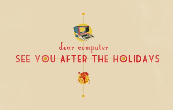 Picture computer, style, background, the inscription, Wallpaper, art, Santa