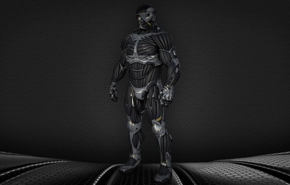 Picture Crysis, USA, game, Crysis 2, texture, man, nanosuit, hero, suit, Alcatraz, powerful, strong, muscular, James …