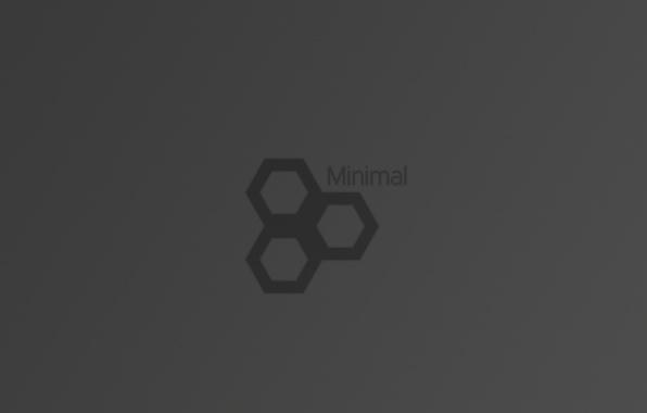 Picture figure, graphics, Minimalism, grey