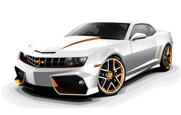 Picture Chevrolet, Camaro, 2012, Chevrolet, Tuning, Camaro, Custom