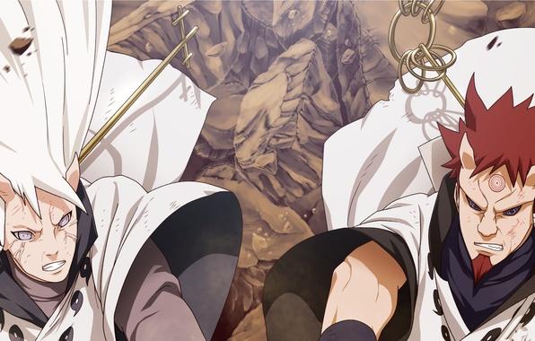 Picture naruto, brothers, manga, hamura, hagoromo, ootsutsuki clan, carl1tos