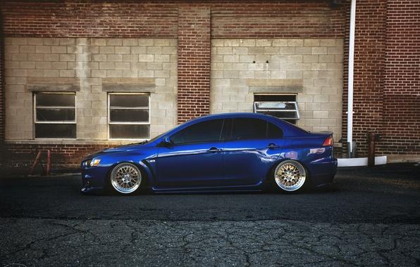 Picture profile, mitsubishi, blue, blue, lancer, evolution, evo, Lancer, Mitsubishi