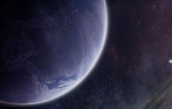 Picture stars, surface, planet, the atmosphere, asteroids