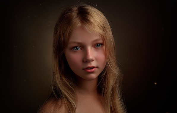 Picture portrait, Russia, the beauty, Lisa, Elizabeth, Stepan Gladkov