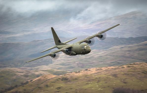 Picture the plane, military transport, Lockheed Martin, Super Hercules, C-130J