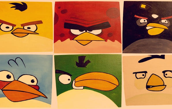 Picture birds, the game, apple, iphone, picture, ipad, angry birds