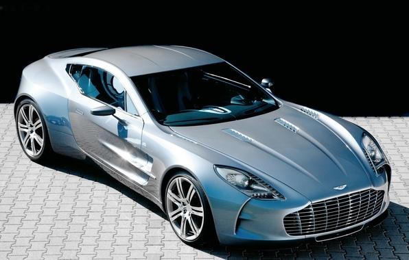Picture machine, Aston Martin, supercar, One-77