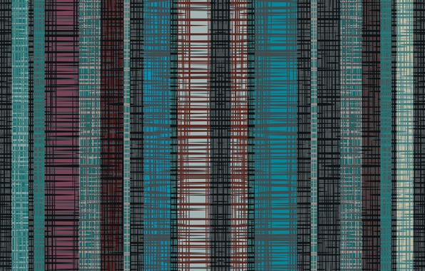 Picture line, background, blue, black, texture