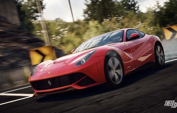 Picture Ferrari, Need for Speed, nfs, Berlinetta, F12, 2013, Rivals, NFSR, NSF