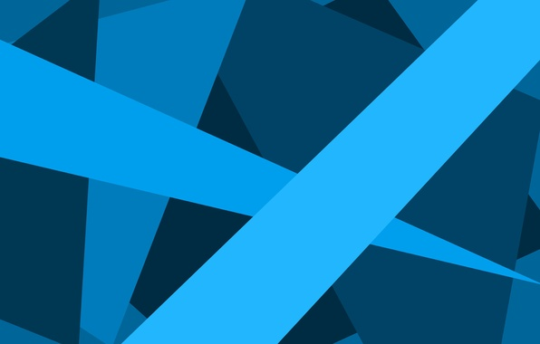 Picture light, line, blue, blue, Wallpaper, strip, ray, the volume, triangle