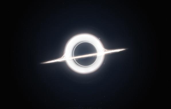 Picture light, black, circle
