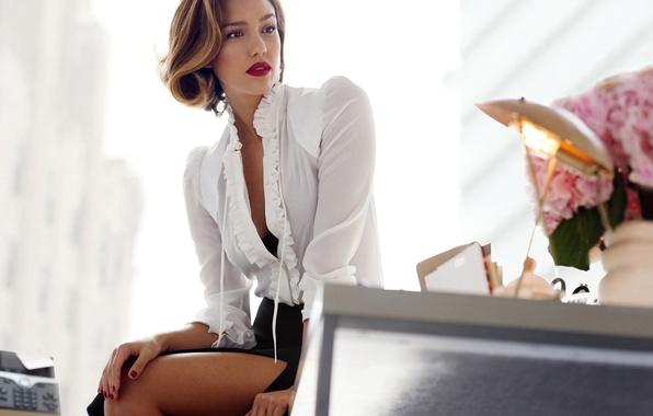 Picture look, girl, feet, woman, model, star, beauty, actress, beauty, Jessica Alba, beauty, jessica alba, latina, …