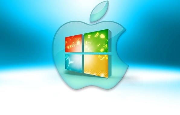 Picture computer, apple, logo, mac, emblem, windows, operating system