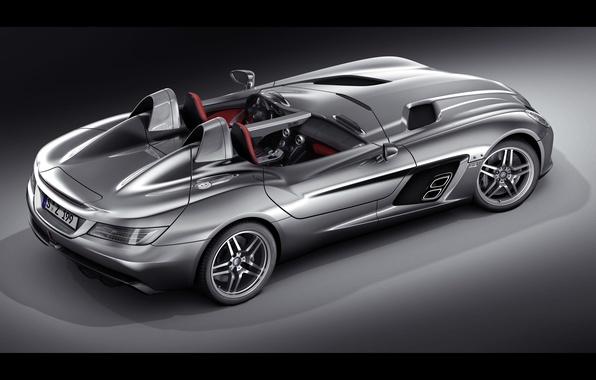 Picture McLaren, Mercedes-Benz, SLR, Mercedes, 2009, Stirling Moss, Z199