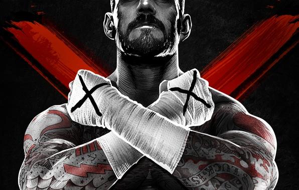 Picture tattoo, wrestler, bandages, CM Punk, NeoGAF, WWE '13, Phillip Jack Brooks, CM Punk