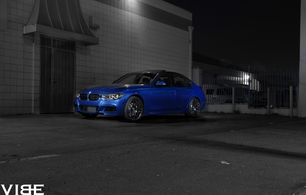 Picture BMW, drives, 335i, side, F30, Before, Garde