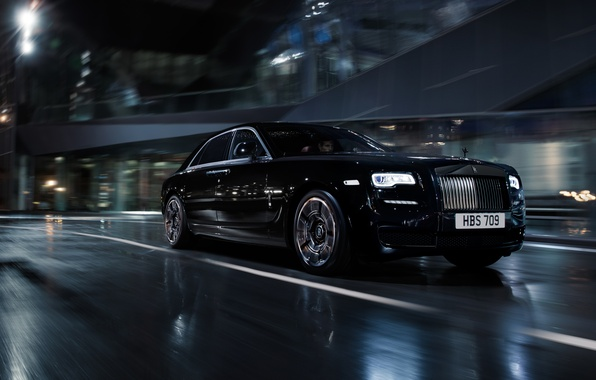 Picture black, Rolls-Royce, Black, Coupe, rolls-Royce, Wraith, Wright