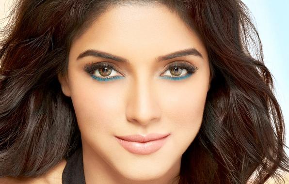 Wallpaper Asin Face Girl Eyes Brunette Girl Actress