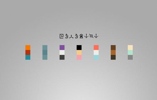 Picture Minimalism, Bender, Futurama, Zoidberg, Futurama, Fry, Amy, Professor, Hermes, Leela