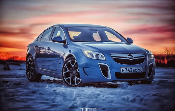 Picture machine, auto, snow, photographer, Opel, auto, photography, photographer, Thirteen
