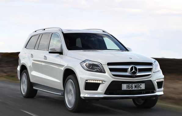 Picture road, auto, Mercedes-Benz, in motion, AMG, Sports Package, BlueTec, GL 350