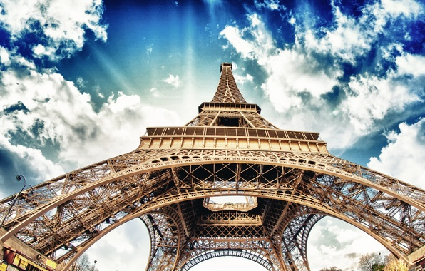Photo wallpaper torre eiffel, Paris, France