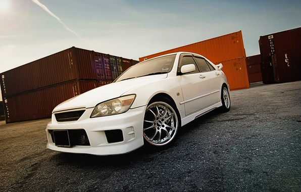 Photo Wallpaper Height, Tuning, Japan, Toyota, Altezza, Car, Toyota,