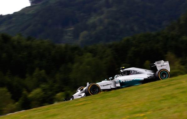 Picture race, sport, formula 1, the car, Mercedes, Mercedes AMG Petronas F1